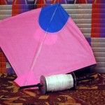 hexayurt roof panels like kites-hexayurttape.com