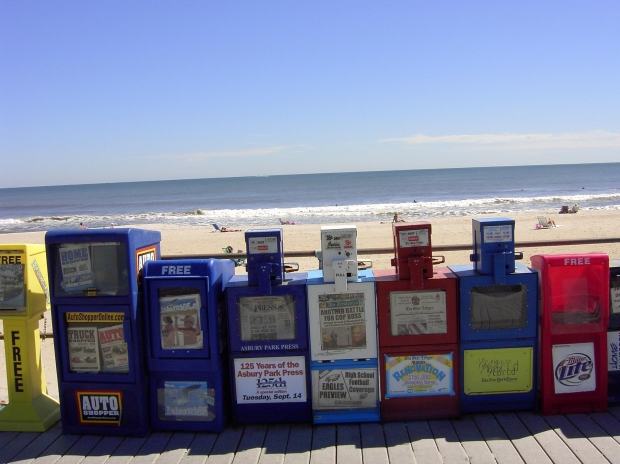 newspaper racks