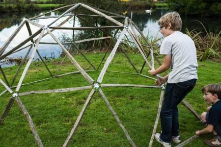New Hub Kit Makes This Yurt Build A Breeze