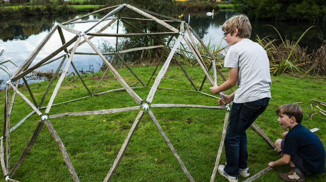 geodesic dome frame